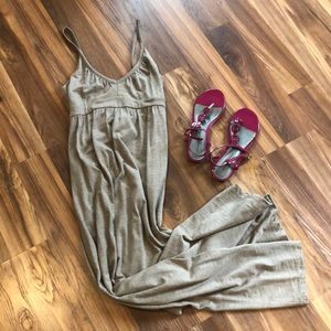 Old Navy Light Brown Maxi Dress